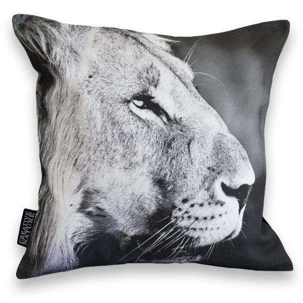 """Creative Nature Kissenbezug """"Lion Portrait"""""""