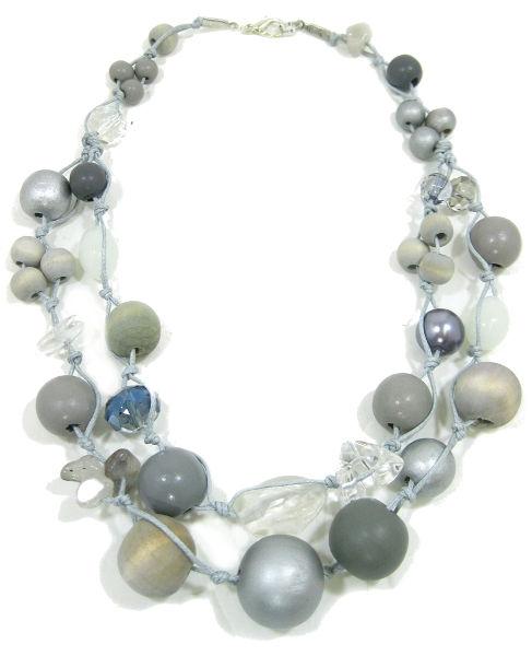 Halskette 2-Strang MOONSHINE