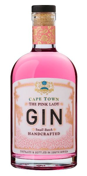 Cape Town Gin The Pink Lady