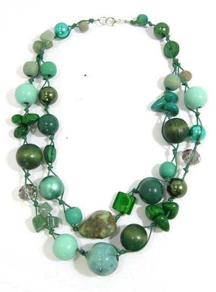 Halskette 2-Strang LILYPOND