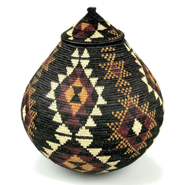 Ilala Weavers Lidded Basket XL