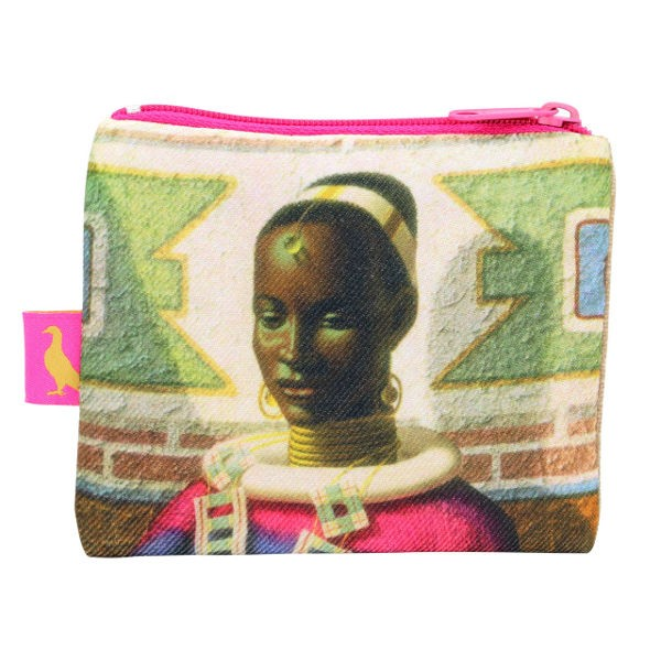 Vladimir Tretchikoff Coin Purse WOMAN OF NDEBELE