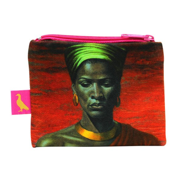 Vladimir Tretchikoff Coin Purse ZULU GIRL Red Sunset