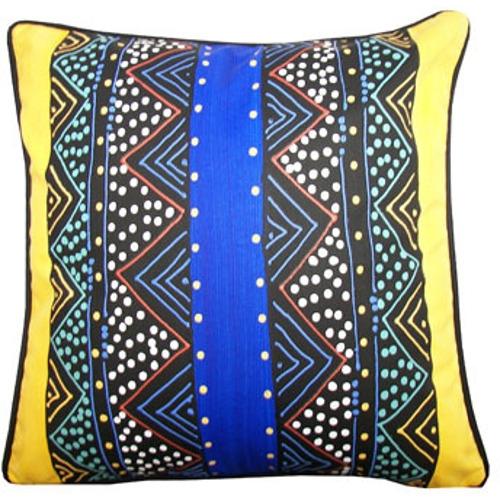 Kissenbezug Ndebele Blue 48x48cm