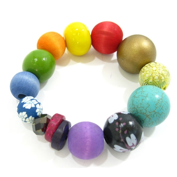 Betty Boo Armband MULTI COLOUR