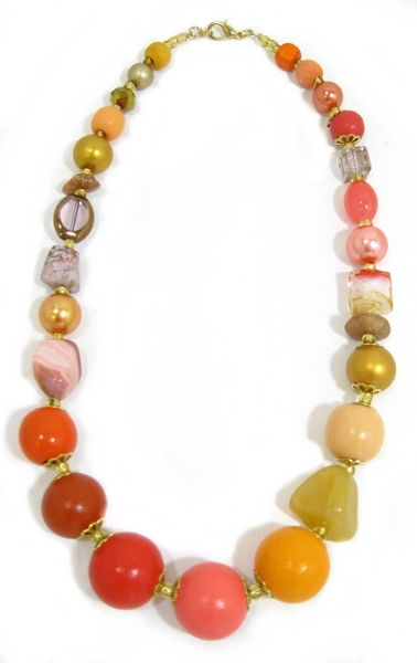 Halskette Floral Glam PAPAYA