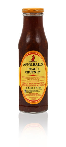 Mrs H.S. Ball's Peach Chutney