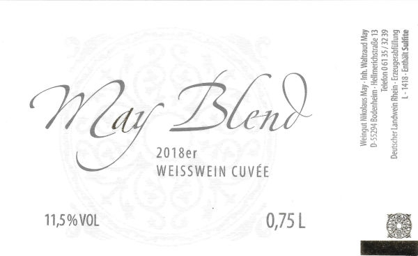 Weinhaus May May Blend 2018