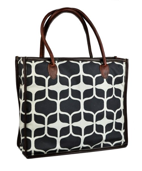 Mongoose Shopper Bag Graphic Black