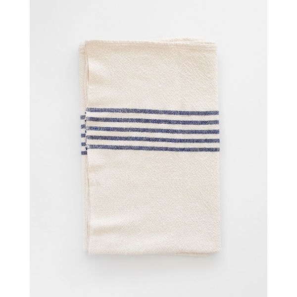 BHW large Country Towel - SOE - NAVY