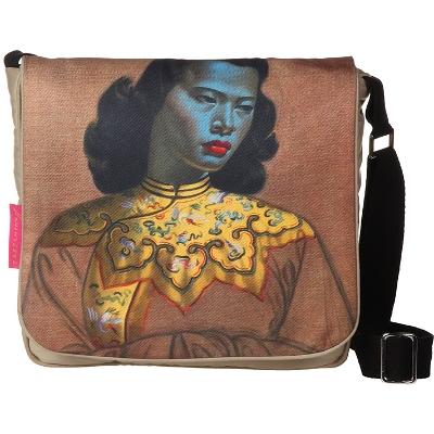 iPad Bag / Postman CHINESE GIRL