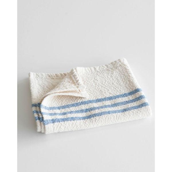 Barrydale Hand Weavers Country Towel - small SOE - DENIM