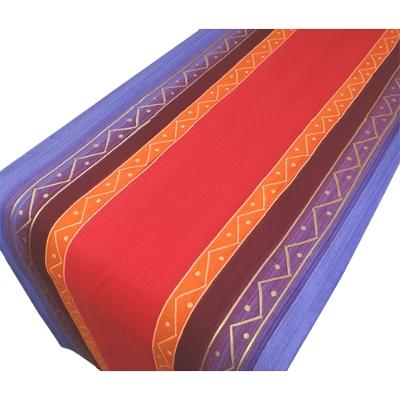 """Tischläufer """"Orange Blue Zigzag"""""""