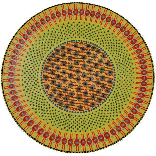 Bowl Open - gelb/rot