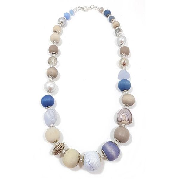 Halskette Floral Glam BLUE JAY