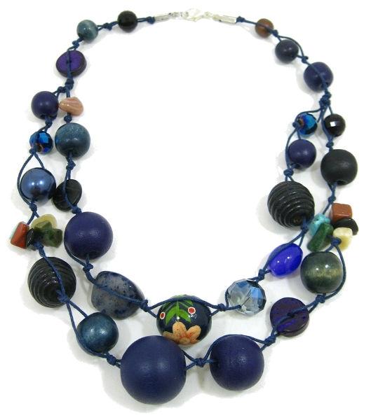 Halskette 2-Strang NIGHTINGALE