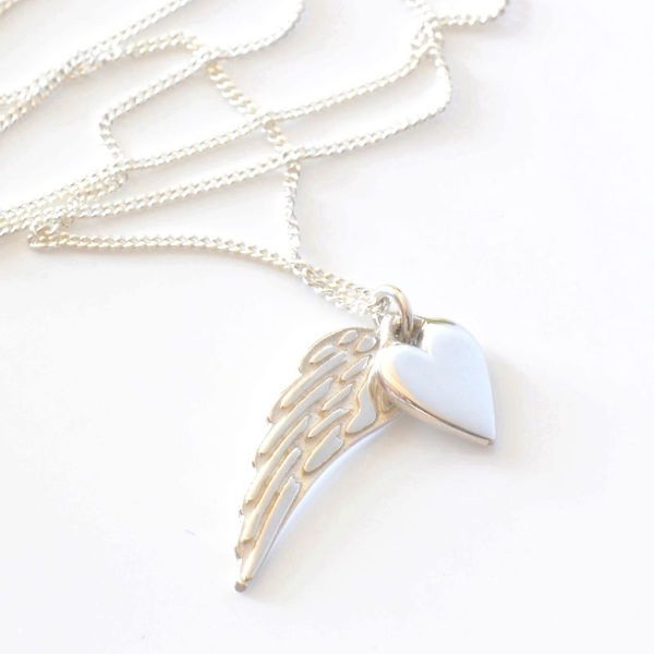 Angelheart & Wing Combo on Chain