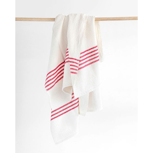 BHW large Country Towel - SOE - RED