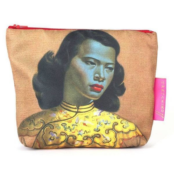 Vladimir Tretchikoff Cosmetic Bag CHINESE GIRL
