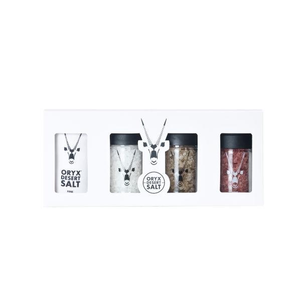 Oryx Desert Smoked & Wine Salts - Geschenkset