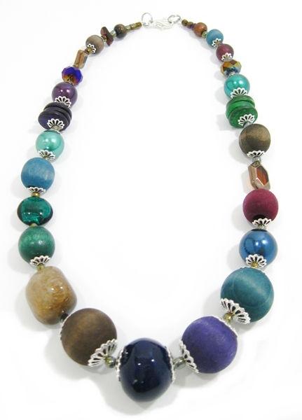 Halskette Floral Glam PEACOCK