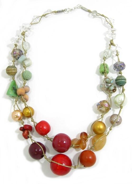 Halskette 2-Strang ARUBA