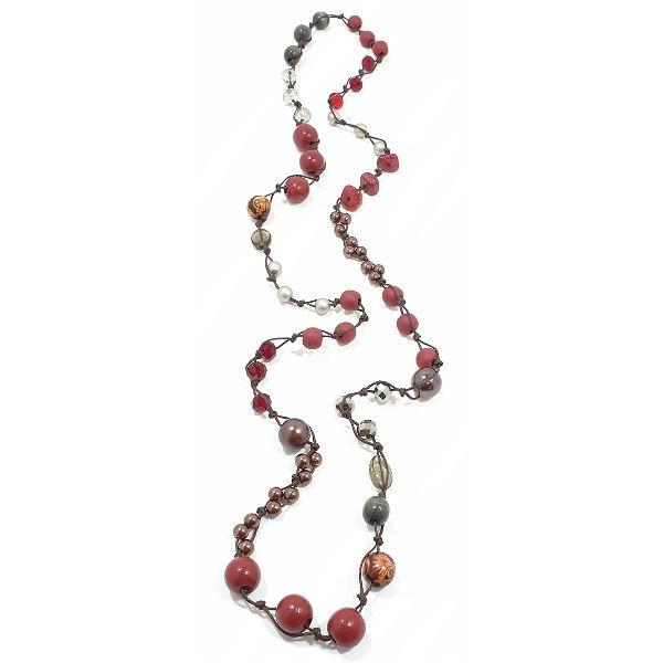 Halskette Bobeep BIKING RED