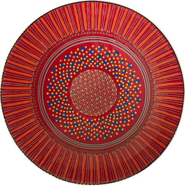 Potterswork Openbowl Red Orange