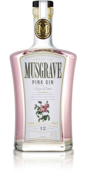 Musgrave Pink Gin (700ml)