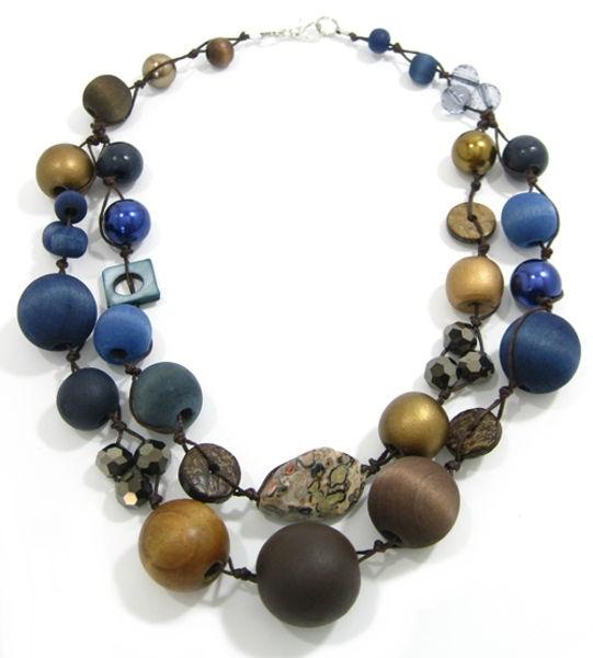 Halskette 2-Strang BEACH STORM