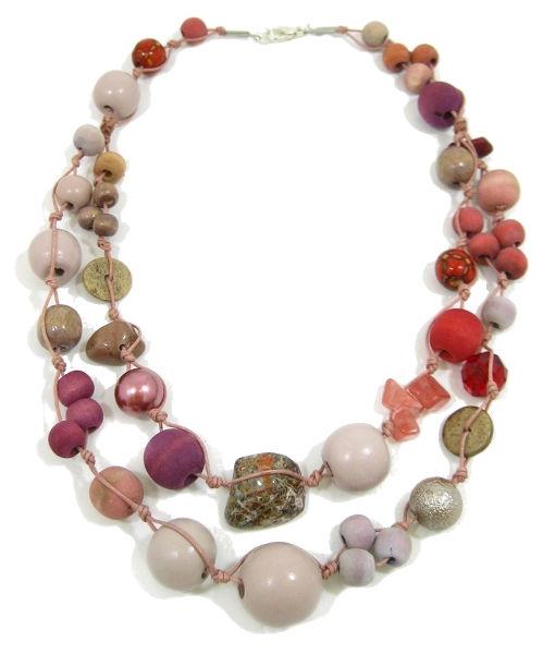 Halskette 2-Strang BERRY