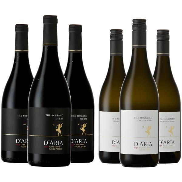 D'Aria Shiraz & Sauvignon Blanc Probierpaket